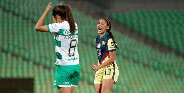Resultado Santos vs América – Jornada 14- Guardianes 2021-  Liga MX Femenil