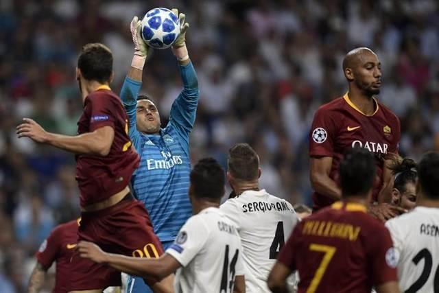 Resultado del Real Madrid vs AS Roma – Fase Grupos – Champions League