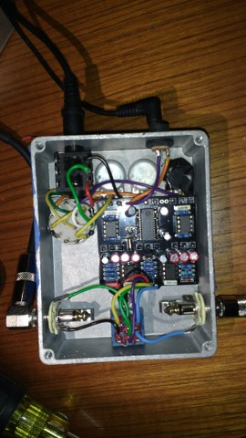 Pedalpcb Octagon with expression jack