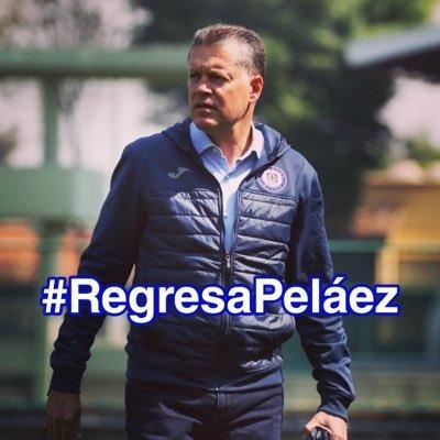 Afición pide el regreso de Ricardo Peláez al Cruz Azul