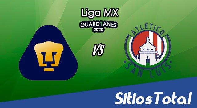Pumas vs Atlético San Luis en Vivo – Liga MX – Guardianes 2020 – Domingo 13 de Septiembre del 2020