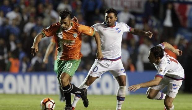 Resultado del Nacional vs Banfield  en Copa Libertadores