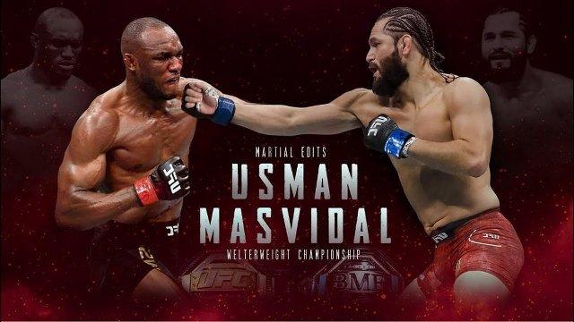 UFC 251 en Vivo – Usman vs Masvidal –  UFC Fight Island – Sábado 11 de Julio del 2020