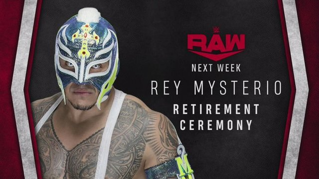 Se retira Rey Mysterio y tendrá homenaje en la WWE