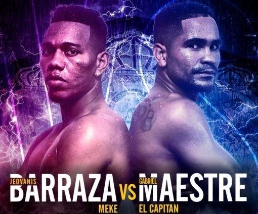 """Jeovanis """"Meque"""" Barraza vs Gabriel Maestre en Vivo – Box – Sábado 6 de Julio del 2019"""