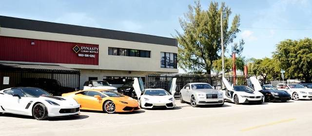 Exotic Car Rentals Miami