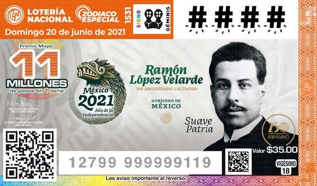 Loteria Nacional Sorteo del Zodiaco No. 1531 en Vivo – Domingo 20 de Junio del 2021
