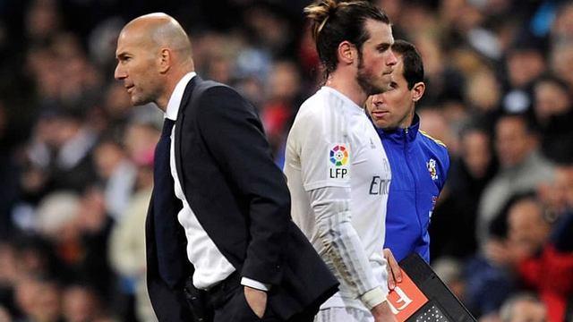 Por culpa de Gareth Bale Zidane dejó al Real Madrid