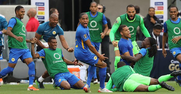 Por primera vez Curazao avanza en la Copa de Oro