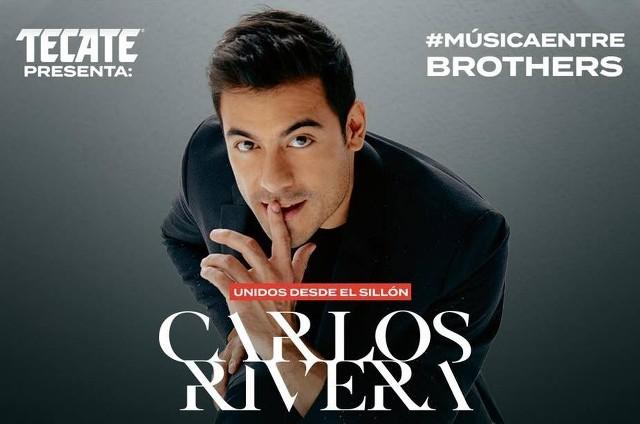 Concierto Carlos Rivera desde casa en Vivo – #MúsicaEntreBrothers – Viernes 3 de Abril del 2020