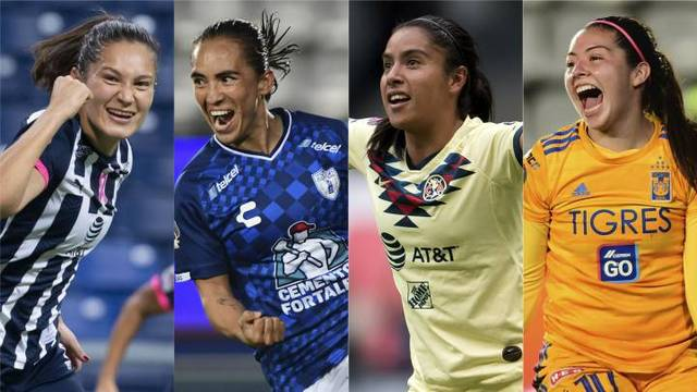 Listas la liguilla de la Liga MX Femenil
