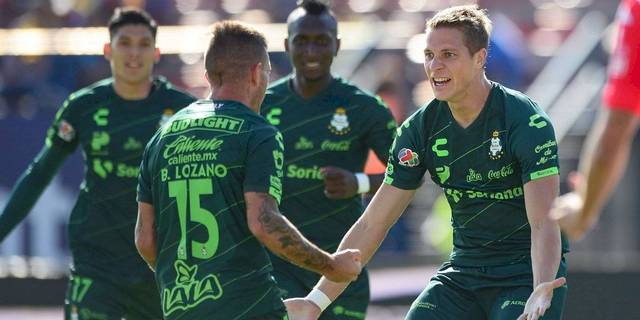 Resultado Atlético San Luis vs Santos -Jornada 10- Apertura  2019