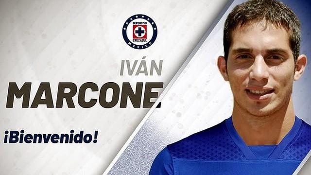 Iván Marcone es el sexto refuerzo de Cruz Azul