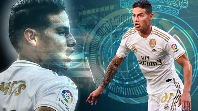 James se reinventa en el Real Madrid