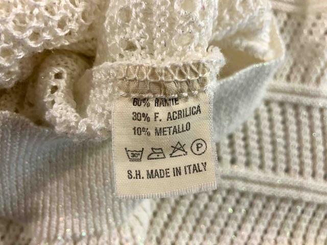 EMILIO PUCCI VINTAGE  80 Cardigan Donna Cotone Lurex Woman Sweater Sz.L - 46 67f56c43086