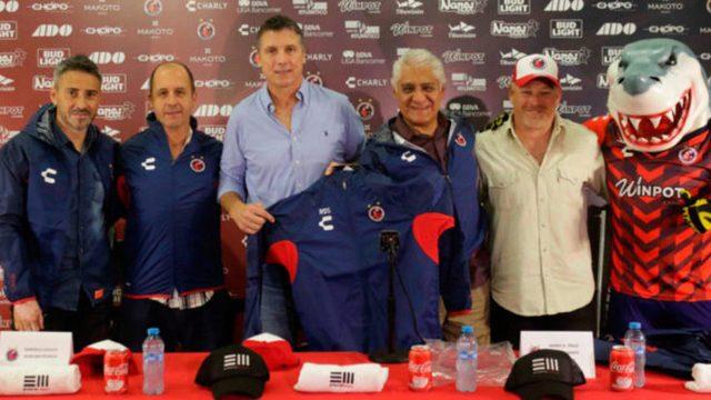 Robert Dante Siboldi es presentado como entrenador de Veracruz
