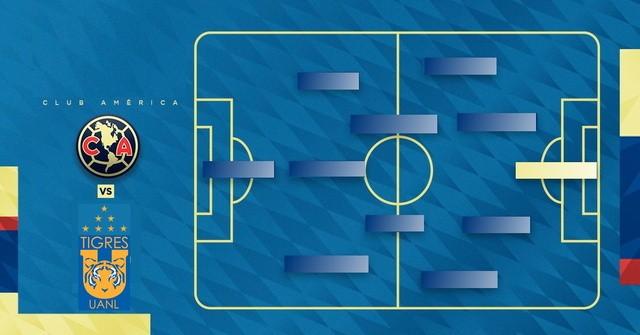 Alineación probable Tigres vs América – J7 Apertura 2019