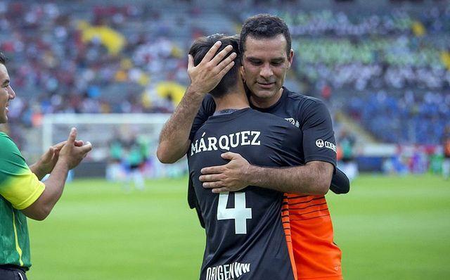 Rafa Márquez! Termina una leyenda; comienza otra con Santiago Márquez