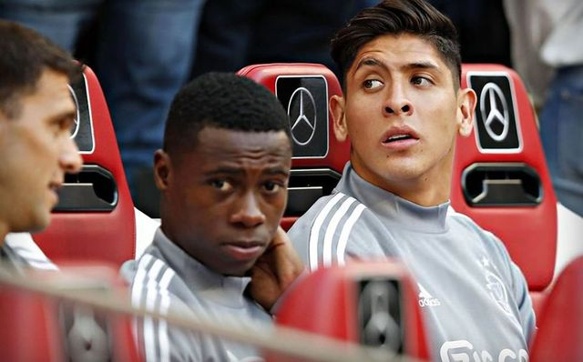 Ajax avanzó de ronda en la UEFA Champions League, Edson se quedó en la banca