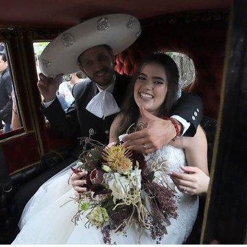 Se caso Camila Fernández hija de Alejandro Fernández