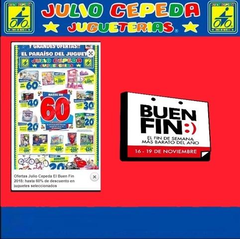 Ofertas Julio Cepeda El Buen Fin 2018