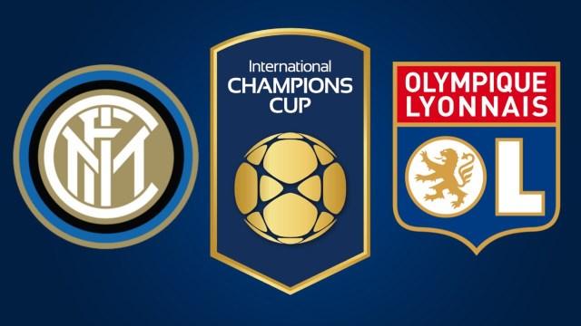 Inter vs Lyon en Vivo – International Champions Cup – Sábado 4 de Agosto del 2018