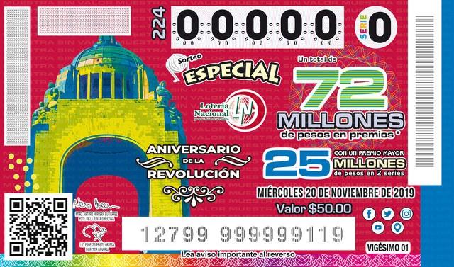 Loteria Nacional Sorteo Especial No. 224 en Vivo – Miércoles 20 de Noviembre del 2019