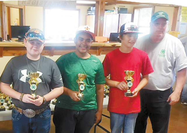 2018 Spring Fun State Trap Shoot 3rd place Intermediate Roger Mills Team