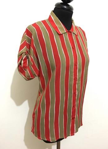 Vintage Paris T Gerard Femme Chemisier M Shirt Pasquier '80 Chemise p45nBOEq