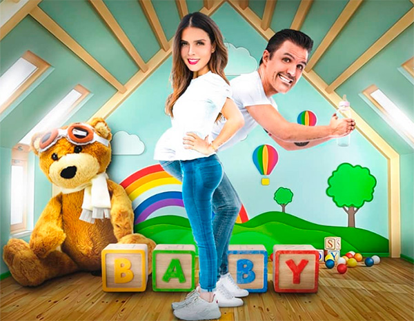 Claudia Álvarez y Billy Rovzar esperan a su primer hijo en común