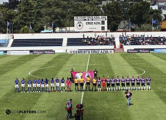 Resultado Cruz Azul vs Pachuca – Jornada 1 Apertura 2018 – Futbol Femenil