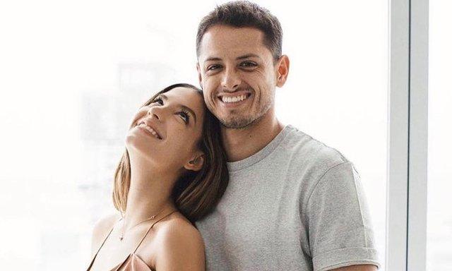Chicharito y Sarah Kohan se convierten en padres de una niña