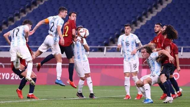 Argentina eliminado en fútbol por España – Juegos Olímpicos