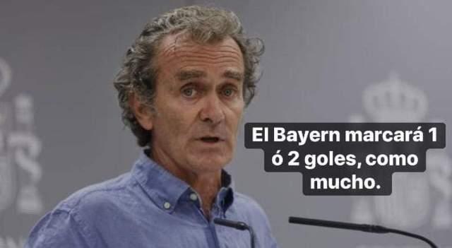 Meme 9 del Barcelona 2-8 Bayern Munich en la Champions League
