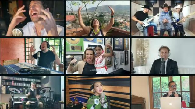 Cantantes y músicos mexicanos se unen para interpretar 'Resistiré'