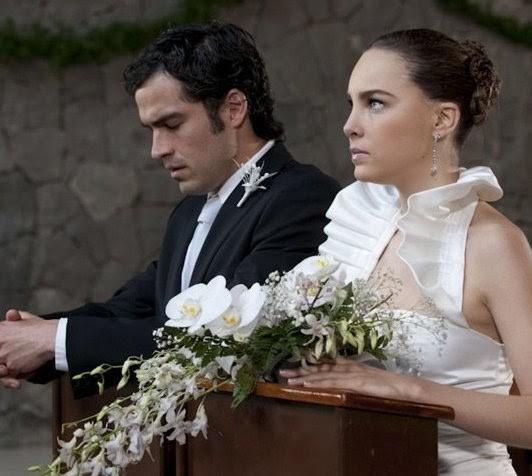 """Fotos de la boda entre Belinda y Alfonso Herrera en """"Camaleones"""""""