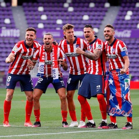 Resultado  Valladolid  vs Atlético de Madrid – J35- La Liga 20-21
