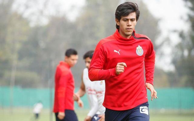 José Juan Macías ya entrenó con Chivas