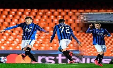 Resultado Valencia vs Atalanta – Octavos de Final –  Champions League 2019-2020