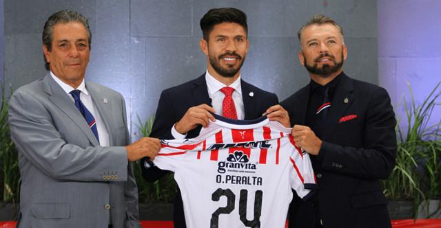 Presentación oficial de Oribe Peralta