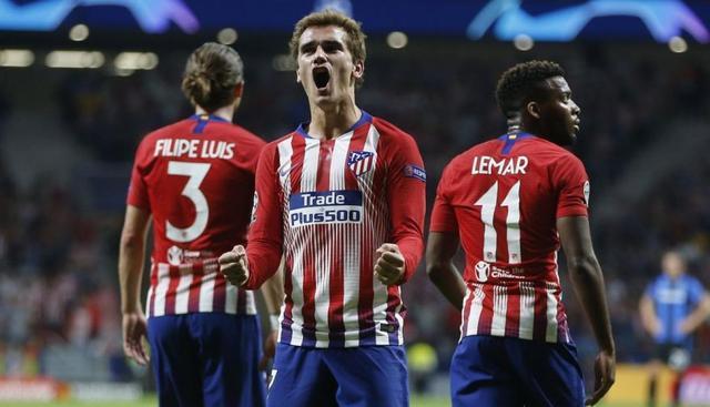 Resultado del Atlético Madrid vs Club Brugge – Fase Grupos – Champions League