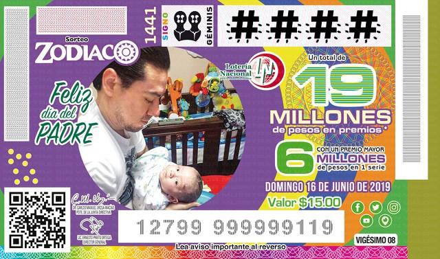 Loteria Nacional Sorteo Zodiaco No. 1441 en Vivo – Domingo 16 de Junio del 2019