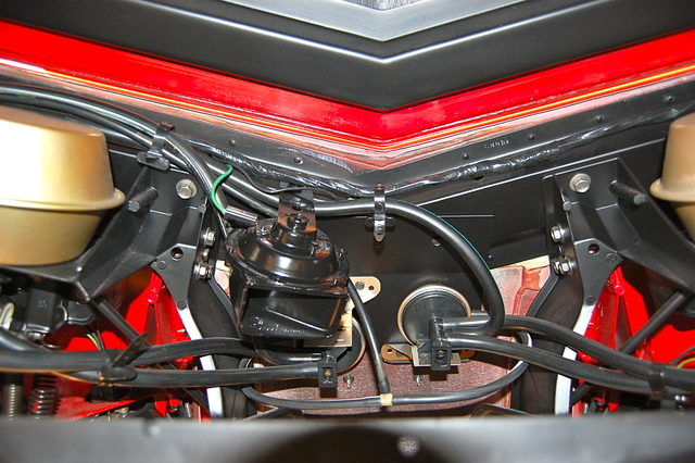 Firewall Wiring Routing - Corvetteforum