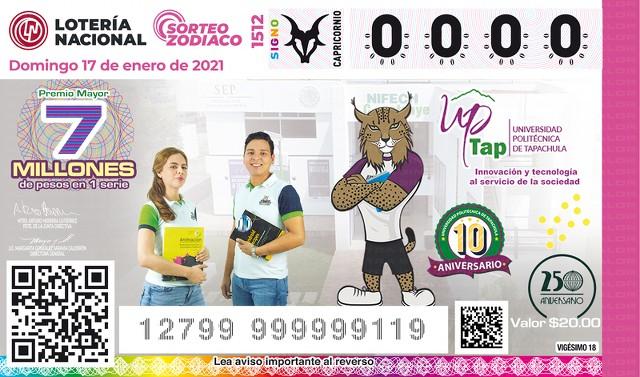 Lotería Nacional Sorteo del Zodiaco No. 1512 en Vivo – Domingo 17 de Enero del 2021