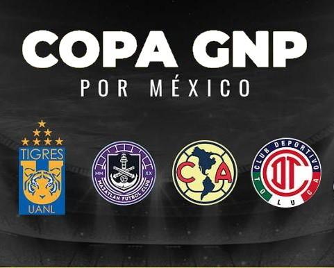 Partidos de la Copa GNP por México – Viernes 3 de Julio del 2020