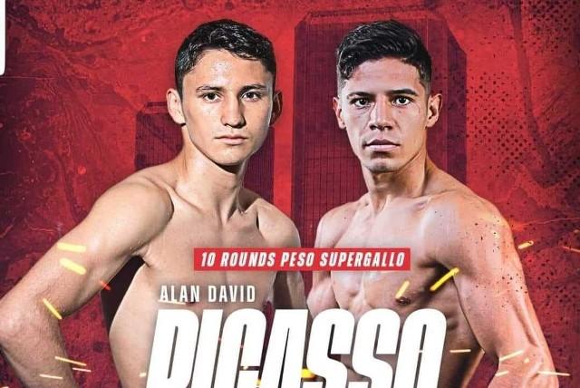 Alán 'Rey' David Picasso vs Miguel Mateos Moreno en Vivo – Box – Sábado 17 de Abril del 2021