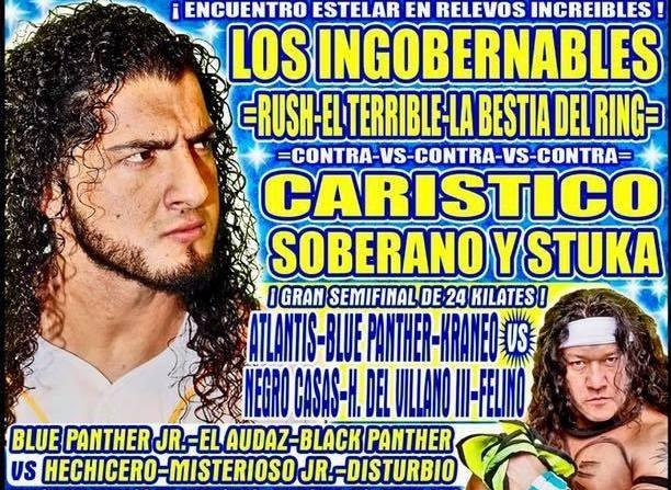Lucha Libre CMLL de Nuevos Valores en Vivo – Martes 13 de Agosto del 2019