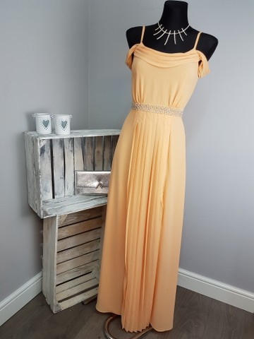 Maxi Jurk Met Tekst.Asos Tfnc Wedding Cold Shoulder Embellished Maxi Dress As50 13 Ebay