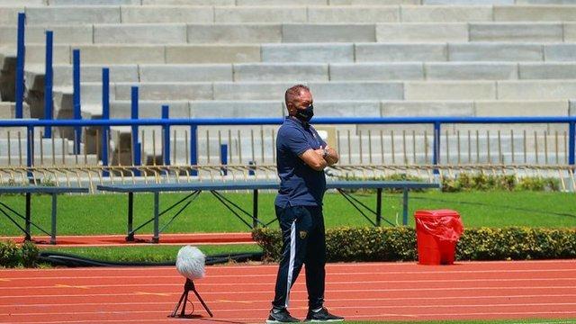 Andrés Lillini se mostró contrariado por el empate