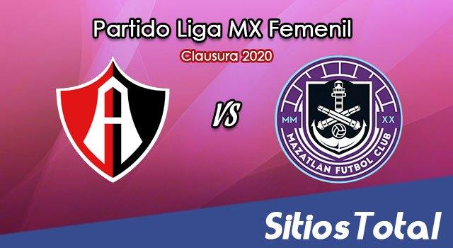 Ver Atlas vs Mazatlán FC en Vivo – Liga MX Femenil – Guardianes – Sábado 15 de Agosto del 2020